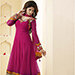Churidar Suit (Anarkali, flaired)- ankle length