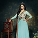 Churidar Suit (Anarkali, flaired)- floor length